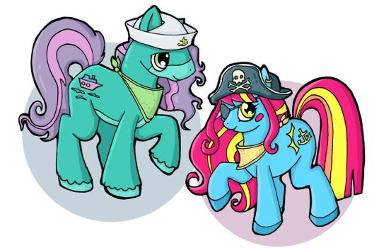 Pony Personas by thelovecat
