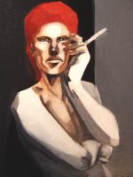Ziggy Stardust-Workinprogress by milleduc