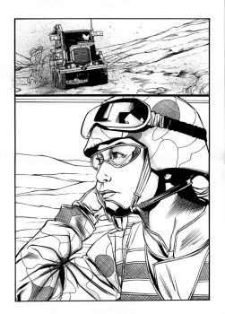 EOD Soldiers 03 - page - 06 ink by furuzono