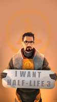 I will wait for you... HALF-LIFE 3 by TakeOFFFLy