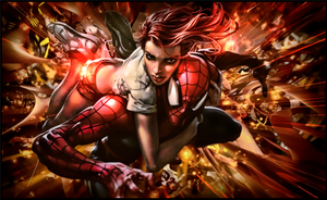 Spiderman and Maryjane by malekith72