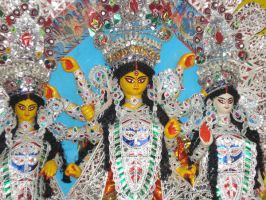 Durga Puja by crazycreepydreams