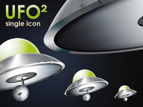UFO2 single icon by Redmile