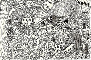Zentangle Mess by TheTweedleTwins