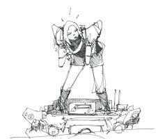 Tank Girl by DarkMechanic