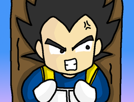 Broly Special - Upset Vegeta by ChibiAdventures