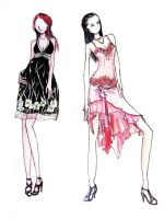 Dresses 4 by karmaela