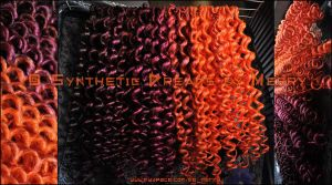 50 DE curly dreads by Masquerade-Infernale