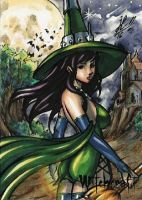 Witchcraft Sketch Card - Jose Carlos Sanchez 3 by Pernastudios
