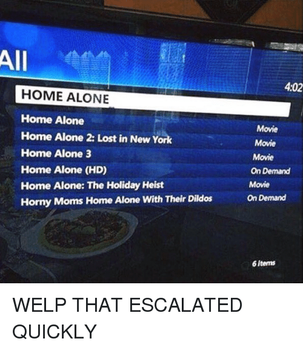 Missing Home Alone movie by usopprules98