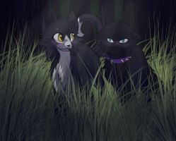 Moonlight and Scourge by RiverSpirit456