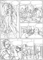 Songes Tome 2 Page 2 Lineart by TerryDodson