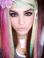 Colorful Scene Hair 4 by Misskylakandy