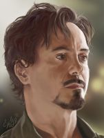 Tony Stark by Yliime