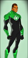 Green Lantern - John Stewart by DraganD