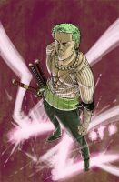 Zoro Coloring Contest by Walter-Ostlie