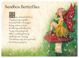 Sandbox Butterflies (digital ver) by LualaDy