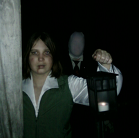 Slenderman is RIGHT there by TheRainbowMess