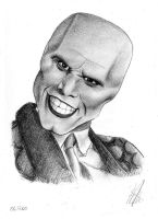 Jim Carrey in The Mask by RockArt78