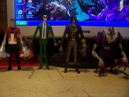 Generator Rex Figures by Anicomicgeek