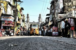 From the Streets of Hyderabad by akhilkhatri