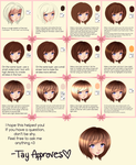 SAI Hair Tutorial by Iseanna