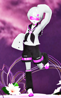 MMD Newcomer: Companion Cube. by Ark-Angel-Lirael