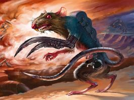 Rat-saboteur by Igor-Grechany-Ostrov