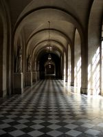 Louvre Hall by MaryAnnBubna