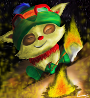 League of legends Teemo by BushidoBegus