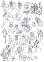 Sketchdump 1 by CremexButter