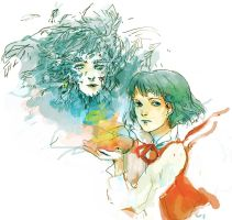 Howl's Moving Castle by Aedsu
