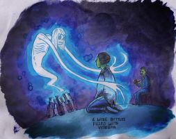 A Ghost to Mother Your Child. by Kid-With-The-Hat