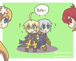 Let's bully them :D by PhuiJL