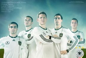 Germany National Football Team by Meridiann