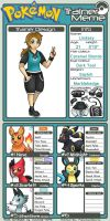 Trainer ID Lindsey by PokemonMasta