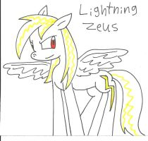 MLP: Lightning Zeus by cmara