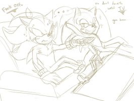 Sonadow SAI sketch - Couch Tiem. by BlueNeedle-Inu