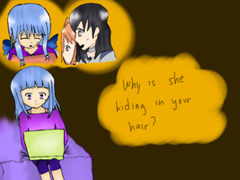 LM: Hiding in your hair...? by Det2x