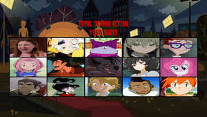 Total Drama Action Spoof Elimination Order by Harmony-Borealis