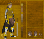 Morgan Kazmir Character Sheet: July 2016 by MoonstalkerWerewolf