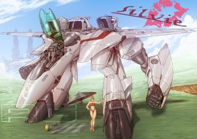 MACROSS VF2 by dagova