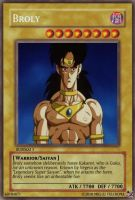 Broly Card - Corrected by WyvernsBlade