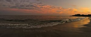 Waterford Beach Sunset by butterphoto