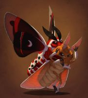 Moth Glomp by Shadow-Wolf