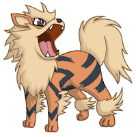 Arcanine by SHINXxPOOCHYENA