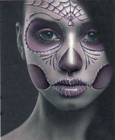 Day of the dead girl by Spanglerart