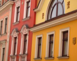 Poland 2007 - Tarnow buildings by TitFlow