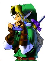 Legend Of Zelda Ocarina Of Time Link Photoshopped by Butterlord120