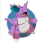 034 - Nidoking by steven-andrew